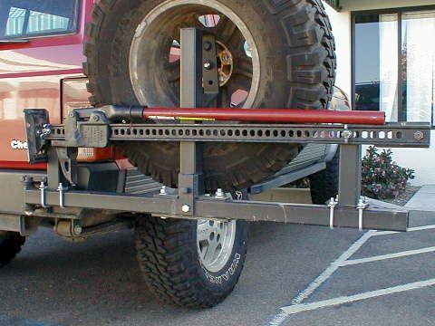 Cherokee Rear Bumper & Accessory Installation