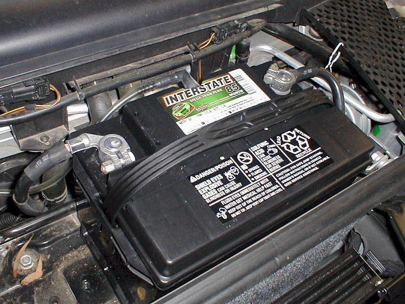 How To Start A Car With A Dead Battery >> Porsche Boxster Dead Battery Replacement