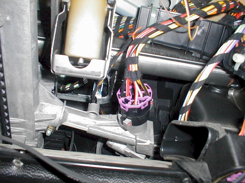 Locate The Ignition Switch Harness