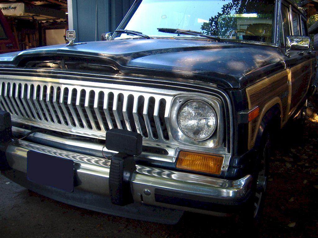 Jeep Grand Wagoneer >> Razor Grille Swap For 1988 Jeep Grand Wagoneer SJ